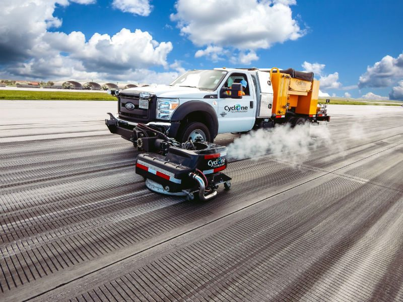 Cyclone Technology Road Marking Removal And Cleaning Systems