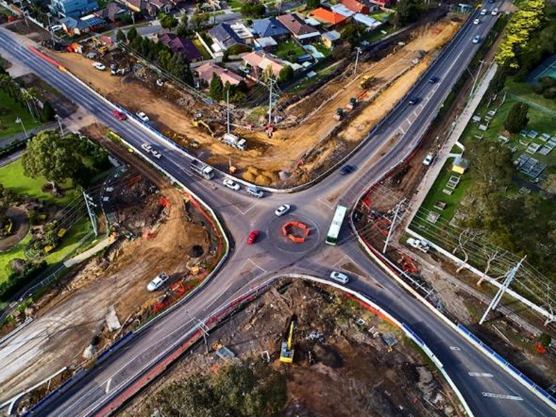 New traffic lights will be introduced to improve the safety at O'Herns Road. Credit: the State Government of Victoria.