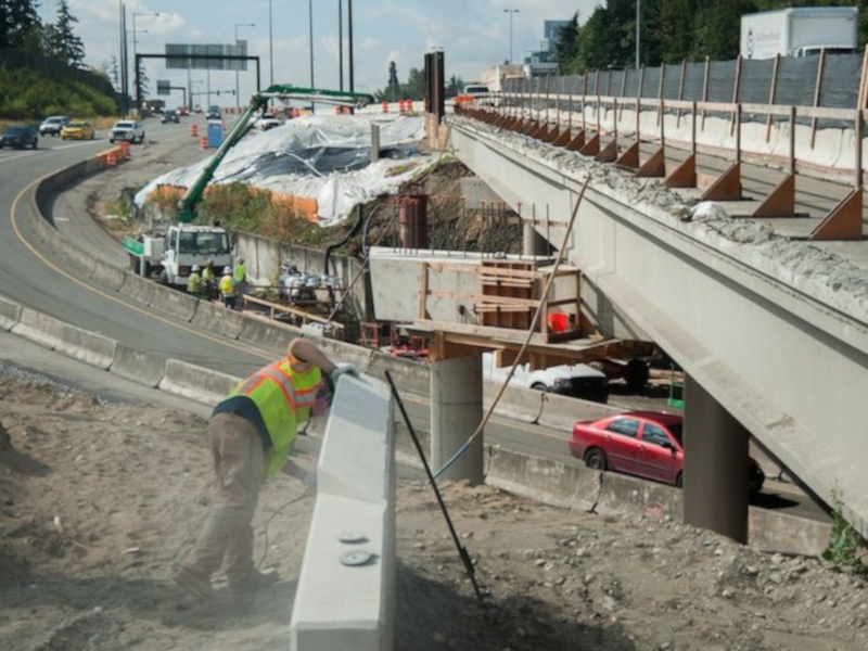 Washington State Department of Transportation (WSDOT) is undertaking the project with an investment of $705m. Credit: Flatiron Construction Corporation.