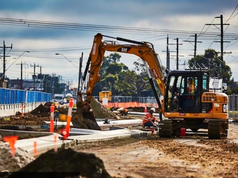 The second stage of O'Herns Road upgrade project includes the construction of new lanes on the Hume Freeway between O'Herns Road and Cooper Street. Image courtesy of the State Government of Victoria.