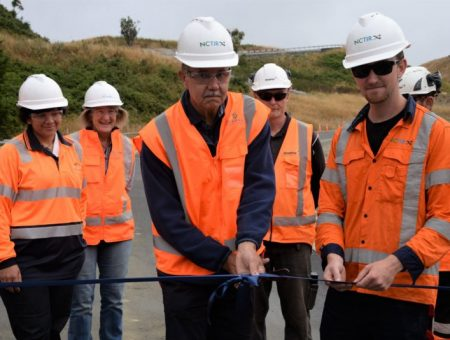 NZ Transport Agency opens bridge over Wandle River