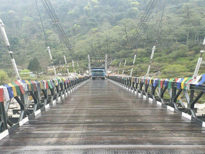 Teesta River bridge