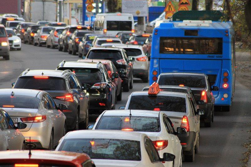 UK road congestion