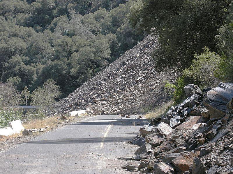 Highway landslide monitoring system