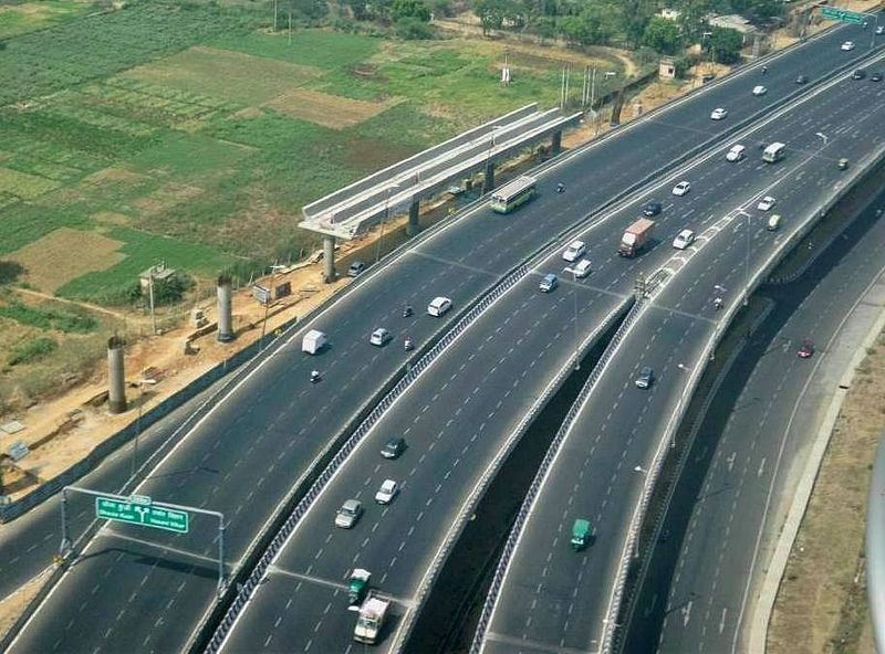 India highway construction