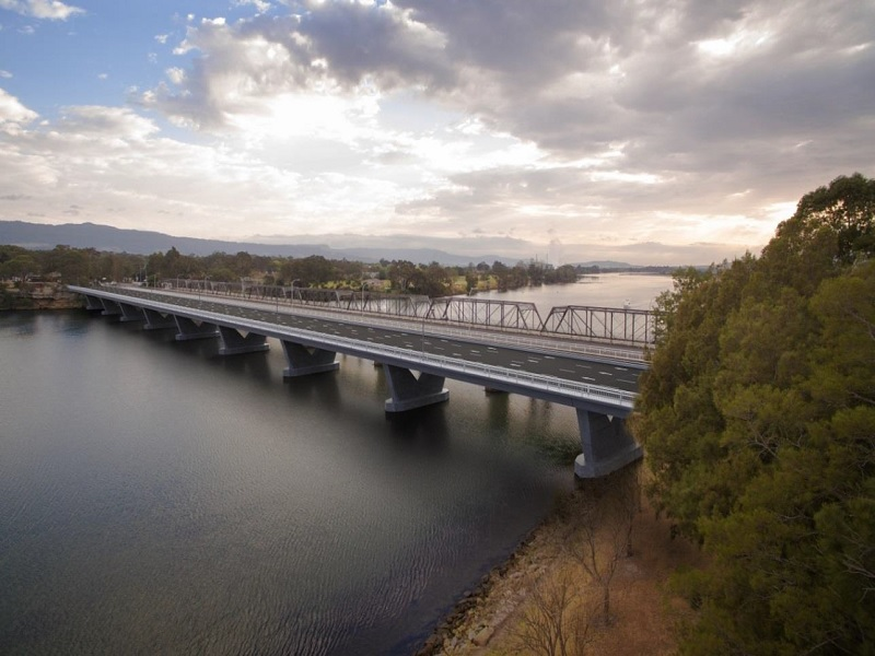 The new Nowra Bridge will be constructed over the Shoalhaven River at Nowra. Credit: Roads and Maritime Services.