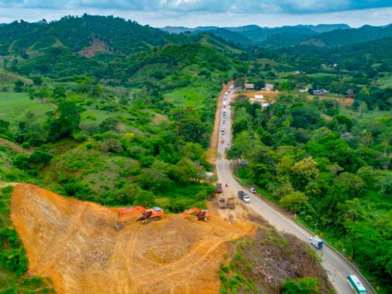 The Puerta de Hierro road upgrade project is a part of the 4G Roads Concession Programme launched by the Columbian Government. Credit: SACYR, S.A.