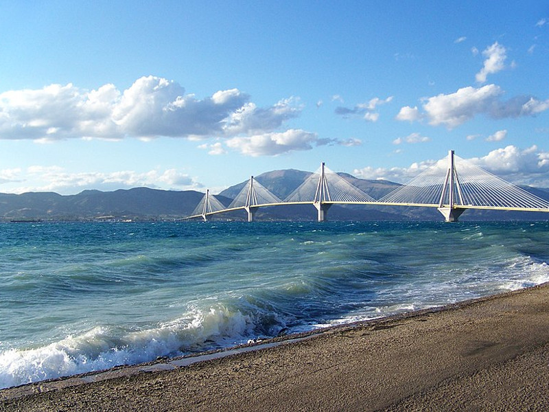 Rion-Antirion Cable-Stayed Bridge