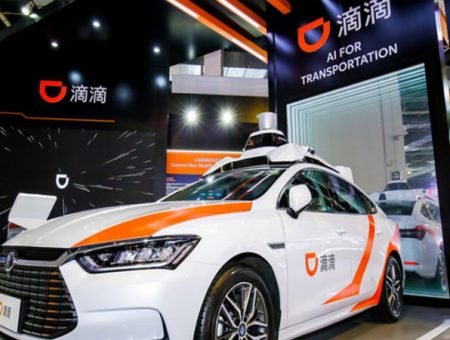 DiDi autonomous driving