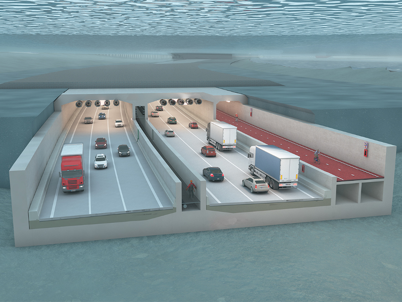 Oosterweel link will extend over a length of 15km and complete the Antwerp Ring Road. Credit: Lantis.
