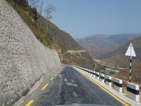 Nepal road infrastructure