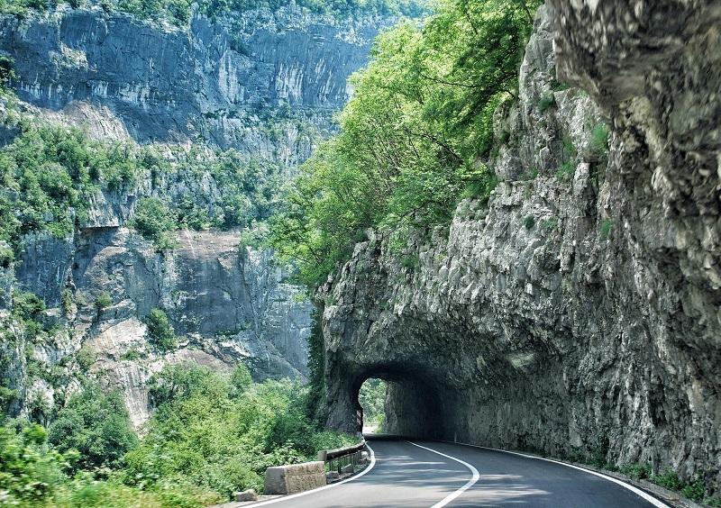 Montonegro road upgrade