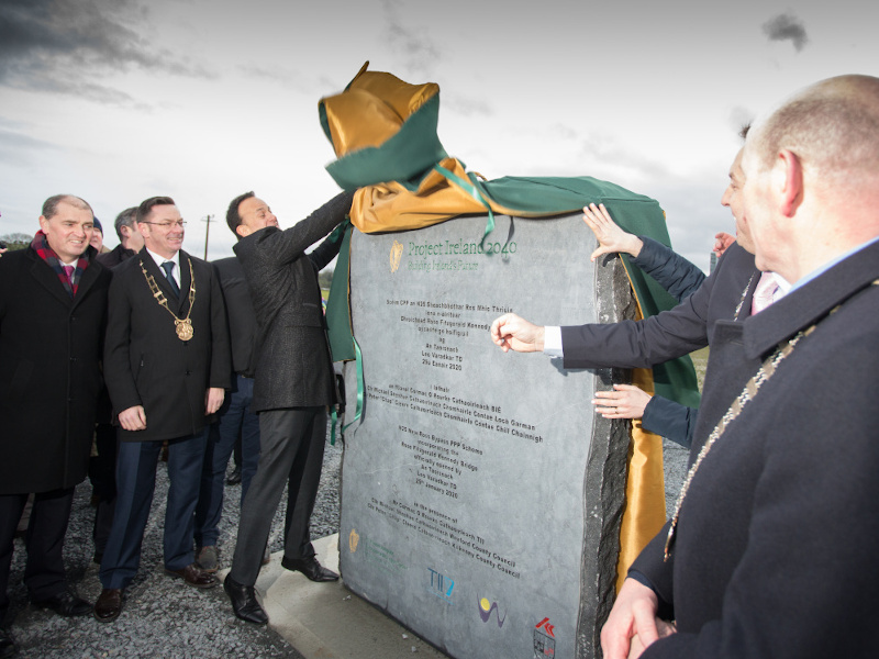 The N25 New Ross Bypass project was officially opened in January 2020. Credit: Royal BAM Group nv.