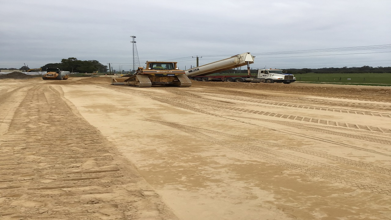 Bussell highway duplication project is being undertaken between Capel Bypass and Busselton. Credit: Main Roads Western Australia.