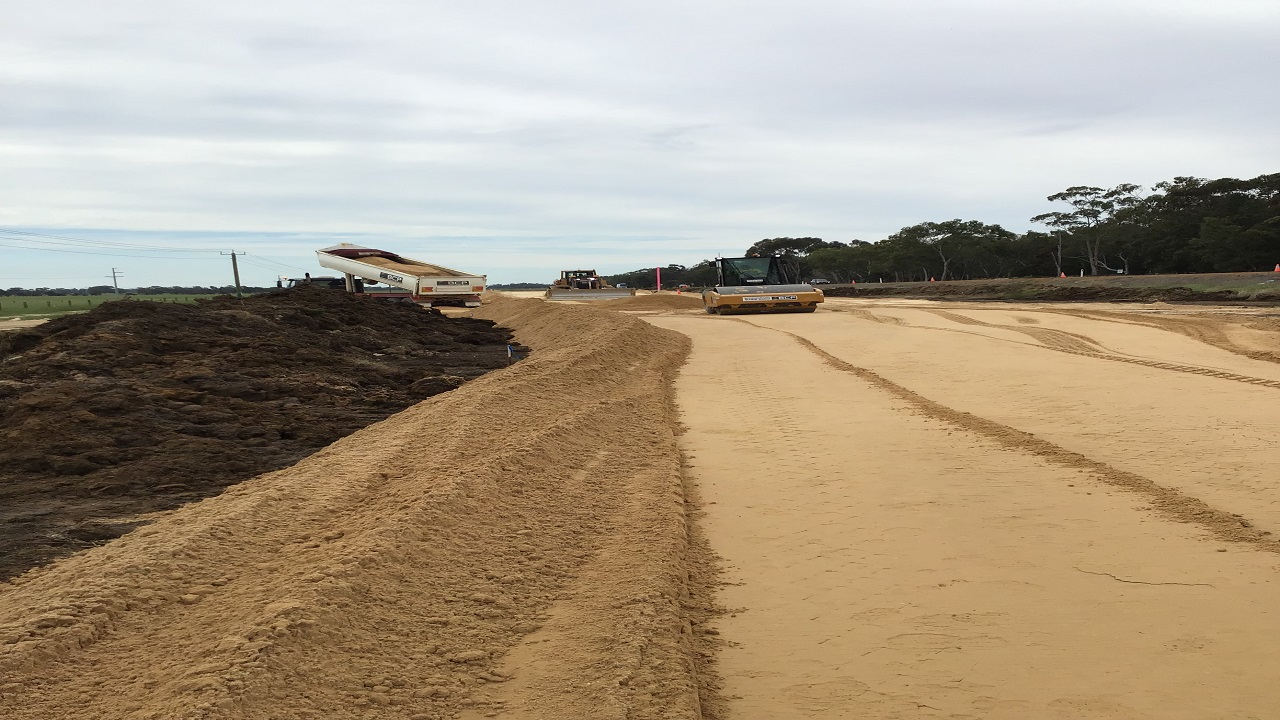 The project is expected to be completed in mid-2022. Credit: Main Roads Western Australia.