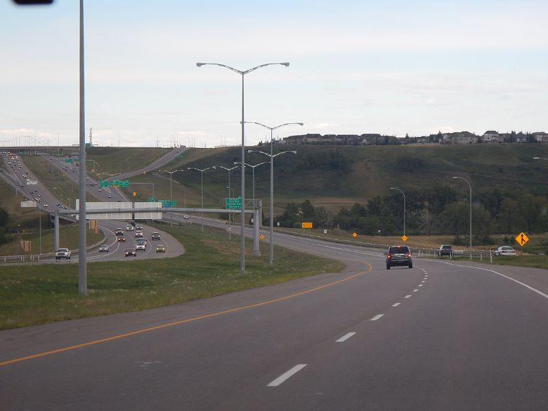 The West Calgary Ring road will be opened to traffic in 2024. Credit: AlvinTo2000.