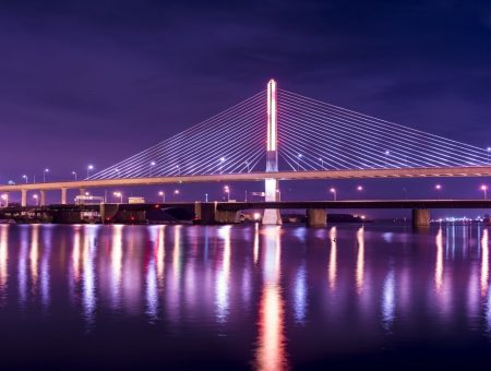 Longest cable-stayed bridges