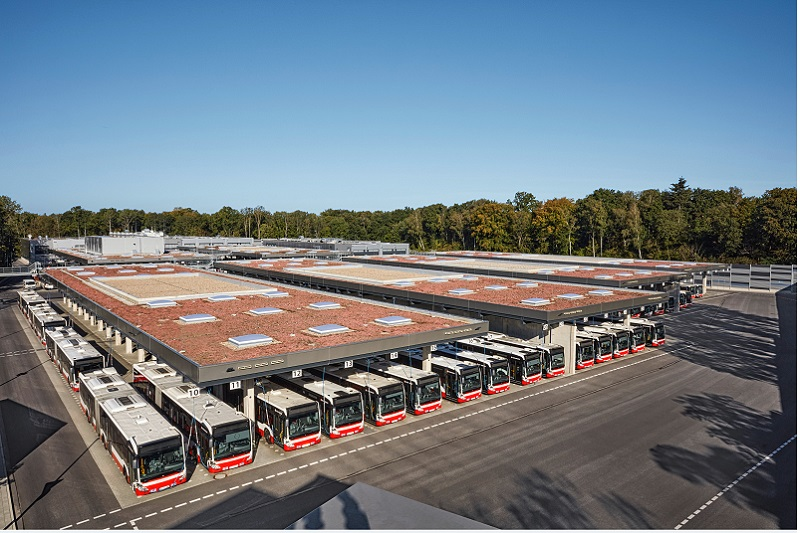 Alsterdorf bus depot
