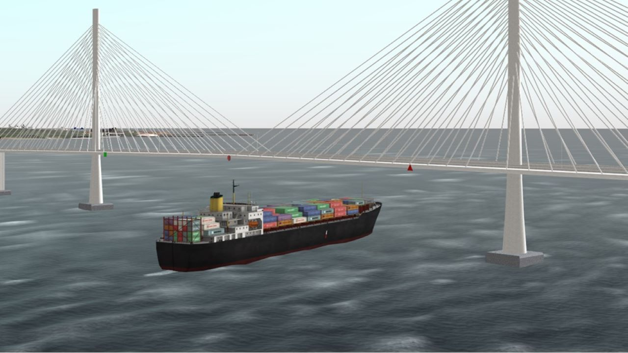 DPWH entered an agreement with the contractors for the detailed engineering design of the Bataan-Cavite Interlink Bridge in October 2020. Credit: Maritime Academy of Asia and the Pacific.