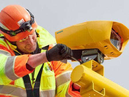 Siemens average speed enforcement