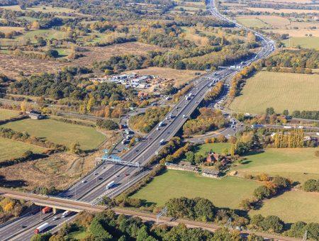 M25 Junction 28