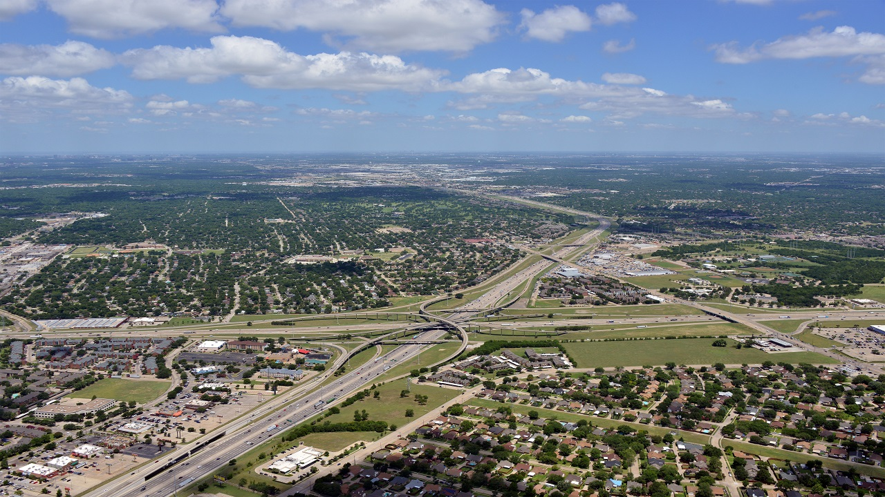 The I-635 LBJ East Project is being executed by the Texas Department of Transportation. Credit: Business Wire.