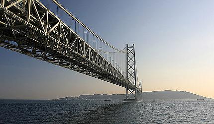 Akashi Kaikyo Bridge, Akashi Strait, Japan