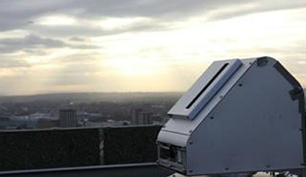 CityScan technology can be thought of as a pollution radar and is highly accurate