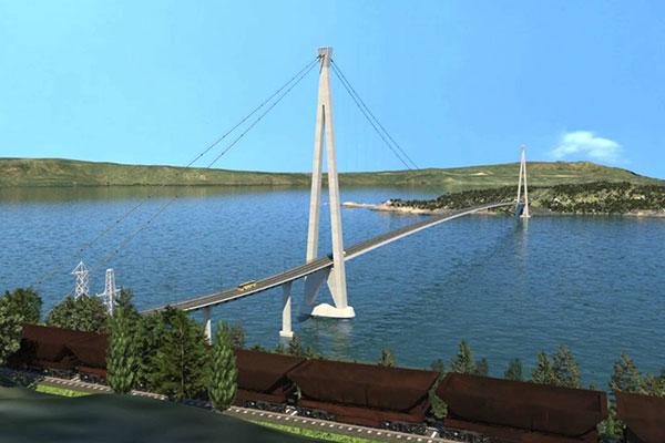 E6 Halogaland Bridge, Narvik