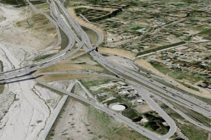 Devore Interchange Project, California