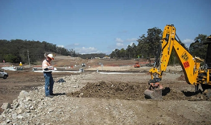 Kempsey Bypass construction