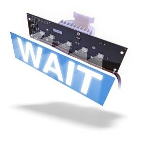 WAIT indicator