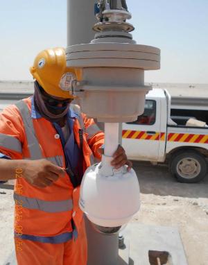 Qatar Roadways Installation