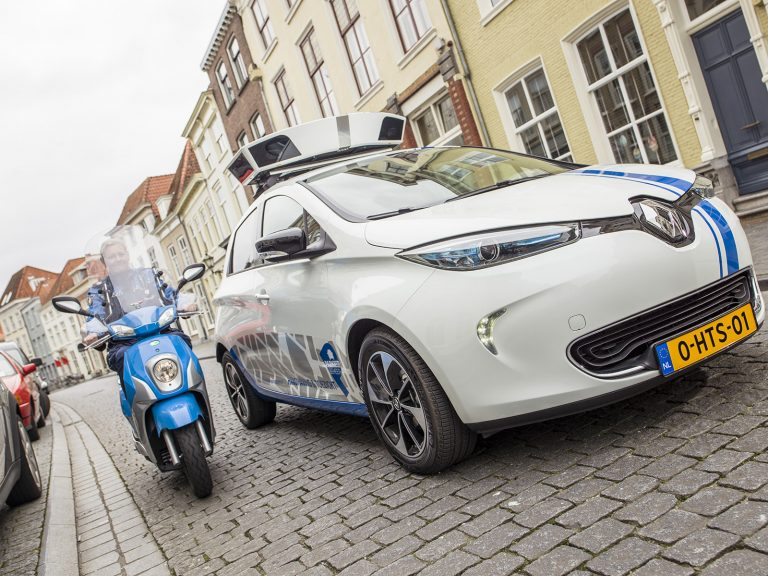 Bergen op Zoom's new zero-emissions enforcement vehicles use Q-Free's INTRADA  ALPR software. Photo Credit: ARVOO