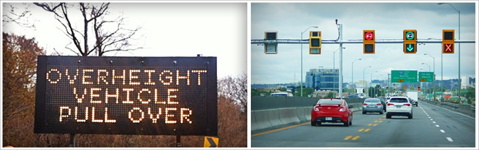 blank out signs and dynamic messaging signs