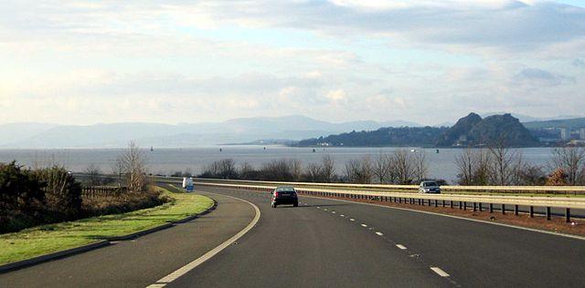 M8 Motorway, Scotland