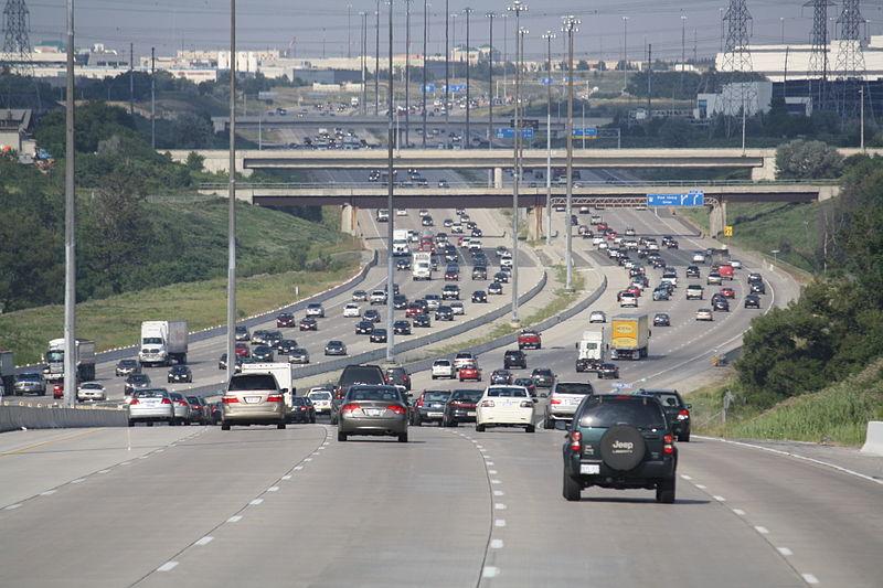 Toronto toll road Highway 407