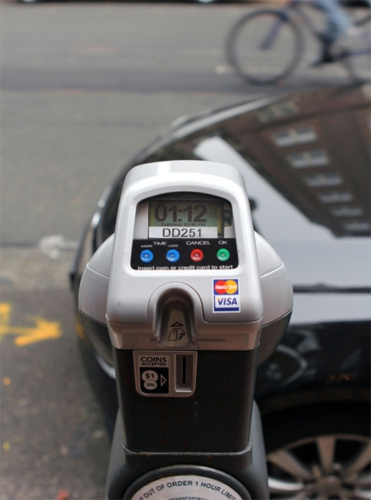 IPS credit card-enabled single-space meter